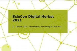 ScieCon Digital Herbst 2021